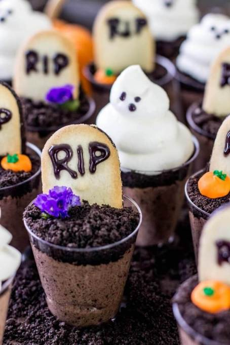 The Best Halloween Desserts on Pinterest: These treats look as good as they taste