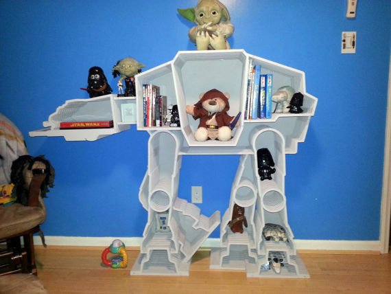 The ultimate Star Wars bookcase