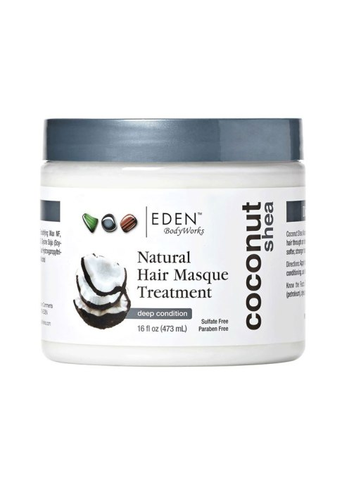 Best Under $20 Hair Masks | EDEN BodyWorks Coconut Shea Hair Masque