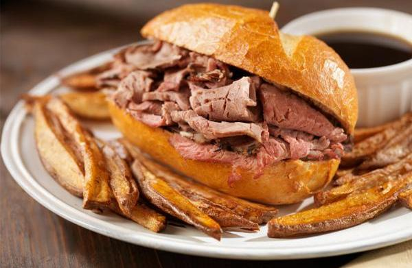 Tonight's Dinner: French dip sandwiches recipe