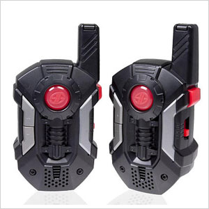 Set of two red and black walkie talkies by Spy Gear | Sheknows.ca
