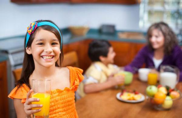 Is juice good for kids?