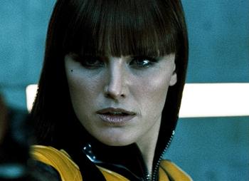 Malin Akerman in Watchmen