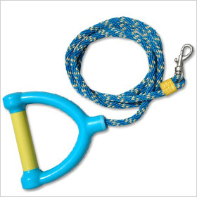 Water ski rope leash