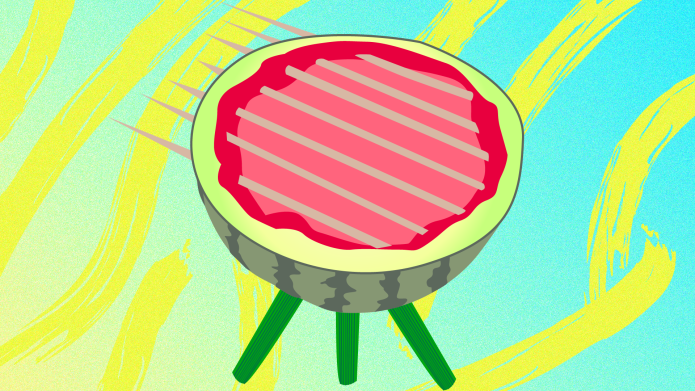 How to Make a Watermelon 'Grill'