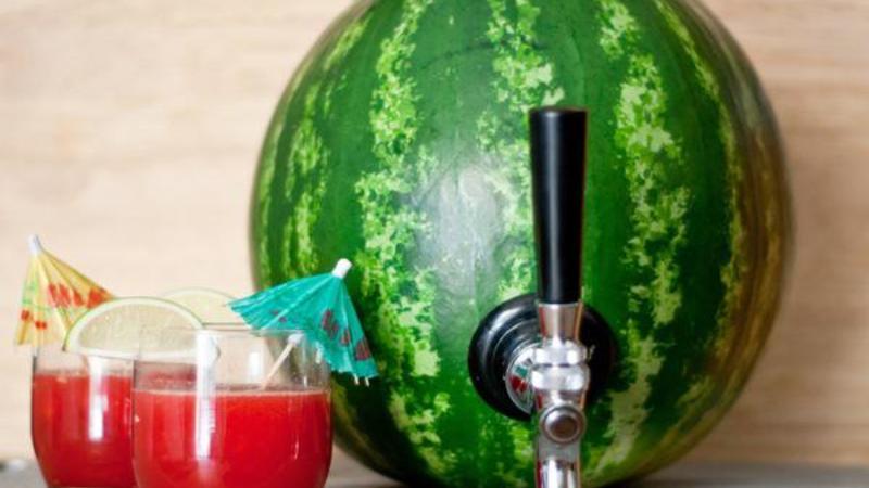 watermelon cocktail keg