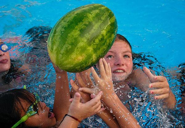 Watermelon Football