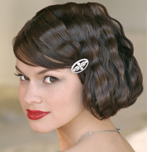 Vintage short hairstyle
