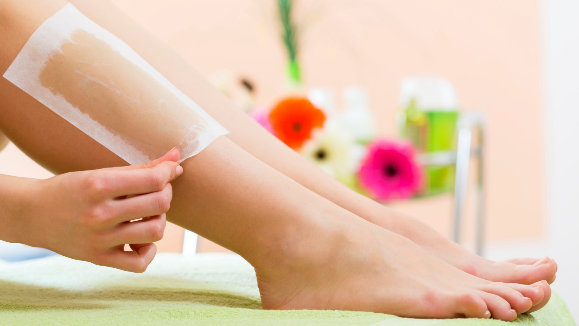 Waxing is a popular hair removal method