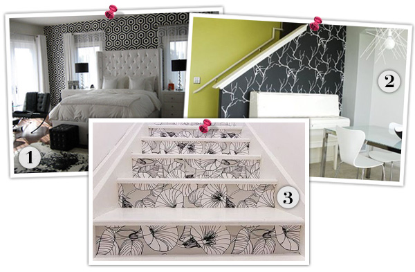 Ways to paper walls