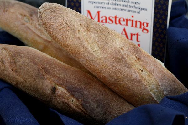 Julia Child's French bread