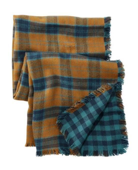 Blanket Scarves to Keep You Cozy This Fall and Winter: The Reversible Scarf at L.L. Bean   Fall and Winter Fashion 2017