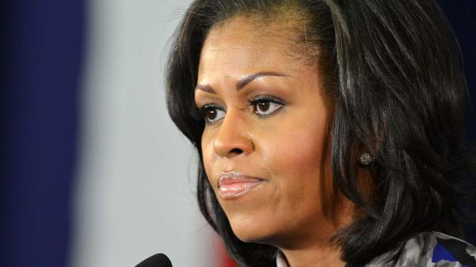 Michelle Obama doesn't see the problem