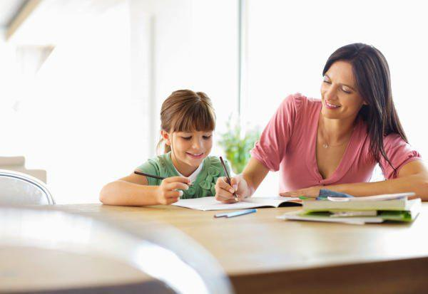 Should single moms help their kids