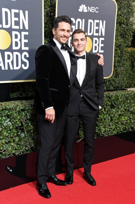 Best Golden Globes fashion 2018: James and Dave Franco