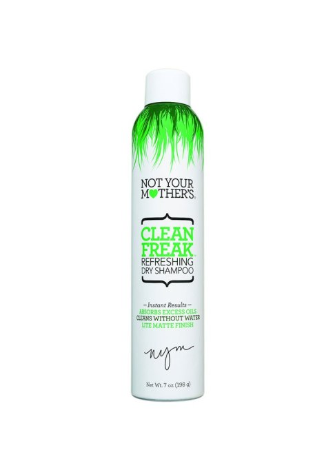 Pointers for Flawless Hair Post-Workout | Not Your Mothers Clean Freak Dry Shampoo
