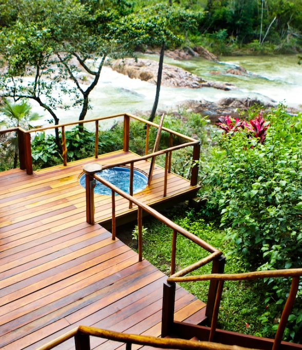 8 Eco-Resorts for Escaping Winter AND Saving the Planet - Gaia River Lodge, Belize