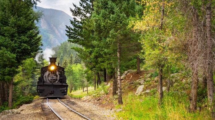 The Durango Silverton Narrow Gauge Railroad