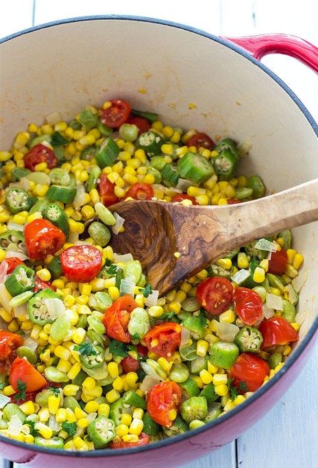 One-pot summer meals | Summer succotash