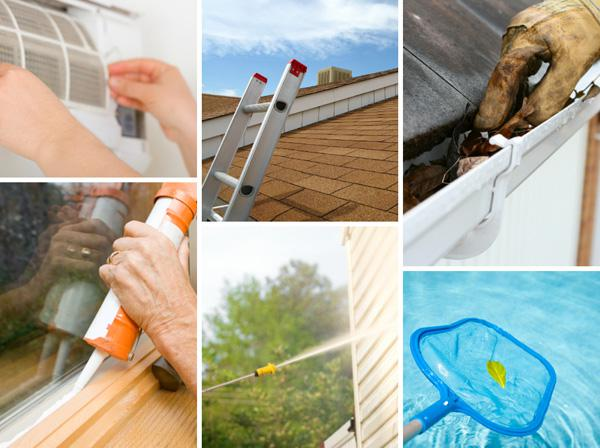 6 Summer home maintenance items you
