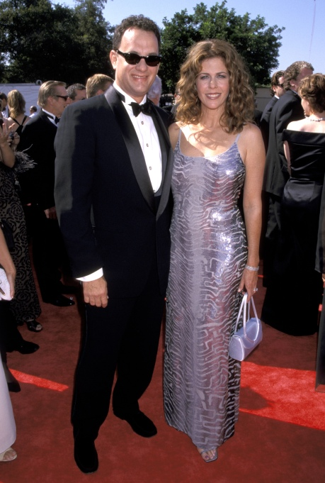 Tom Hanks and Rita Wilson at 50th Annual Emmy Awards