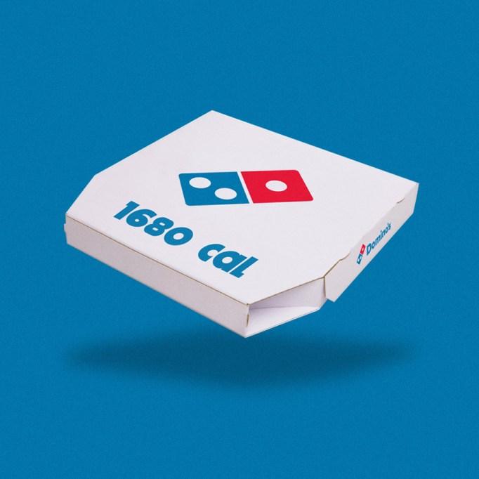 box of pizza