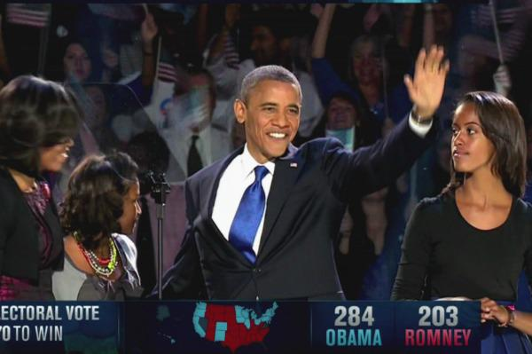 Four more years: Celebs react to