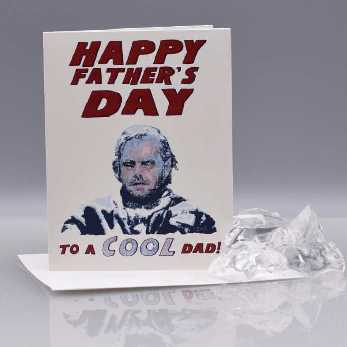 'The Shining' Father's Day card