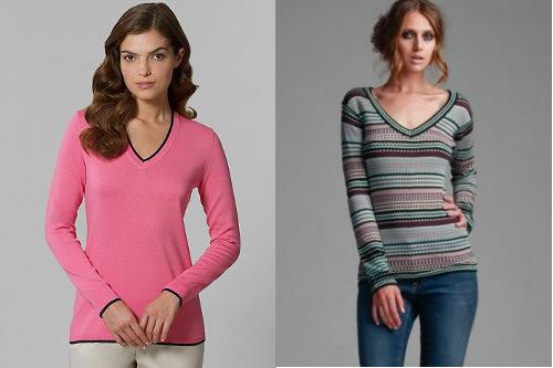 Best fall sweater trends for rectangle-shaped