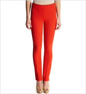 Ann Klein Collection Double Crepe Slim Pant