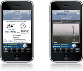 Weatherbug Mobile app