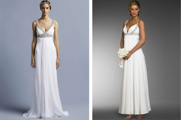 Colette Dinnigan wedding dress and wedding dress from Brides Closet