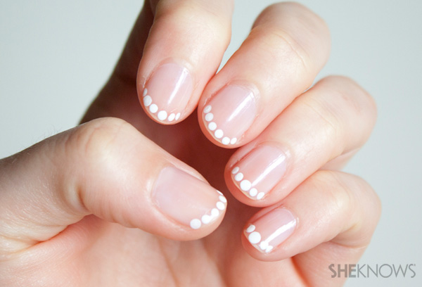 Pearl French Tip