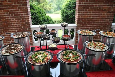 Wedding pizza bar