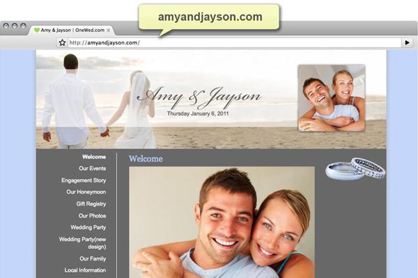 b55c7f72dc6 Create your wedding website – SheKnows