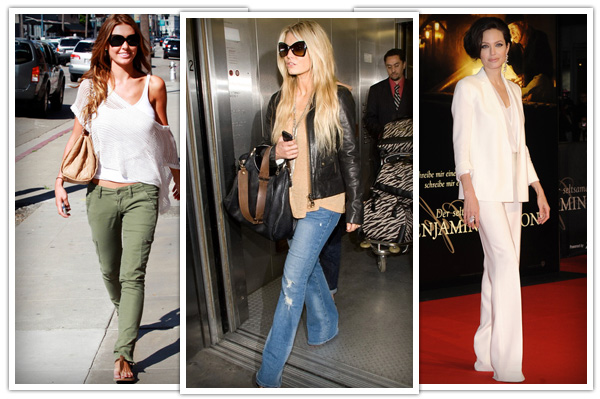 best pants for wedge shaped bodies