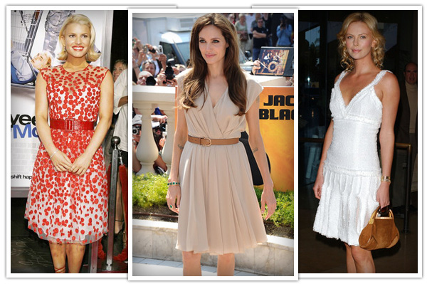 best casual dresses for wedge body shapes