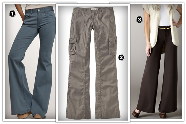 Wedge pant styles
