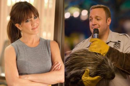Jennifer Aniston and Kevin James