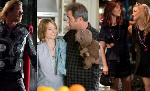 Weekend movies: Thor, The Beaver and Something Borrowed