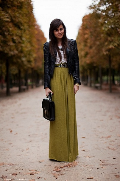 Don't discount maxi skirts!
