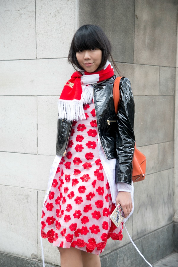 Street style at London Fashion Week AW15