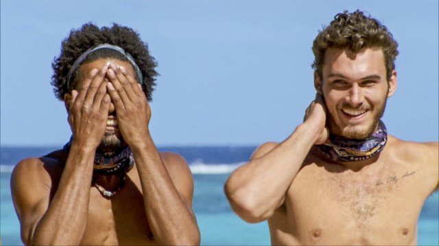 Wendell Holland and Michael Yerger on Survivor: Ghost Island