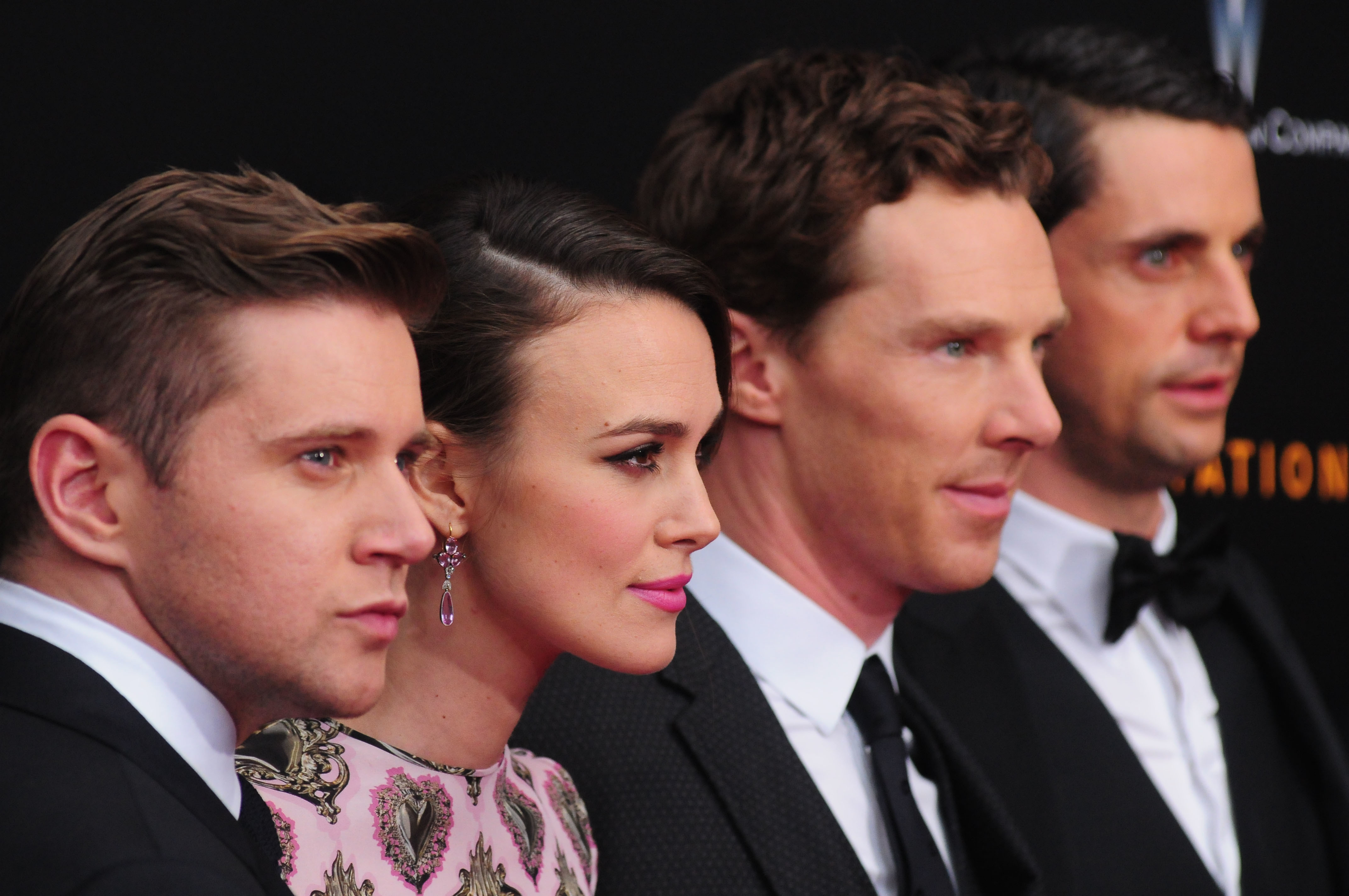 The cast of The Imitation Game