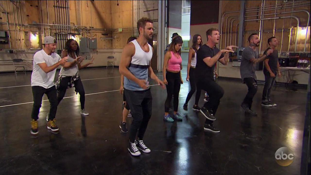 Backstreet Boys appearance on The Bachelor