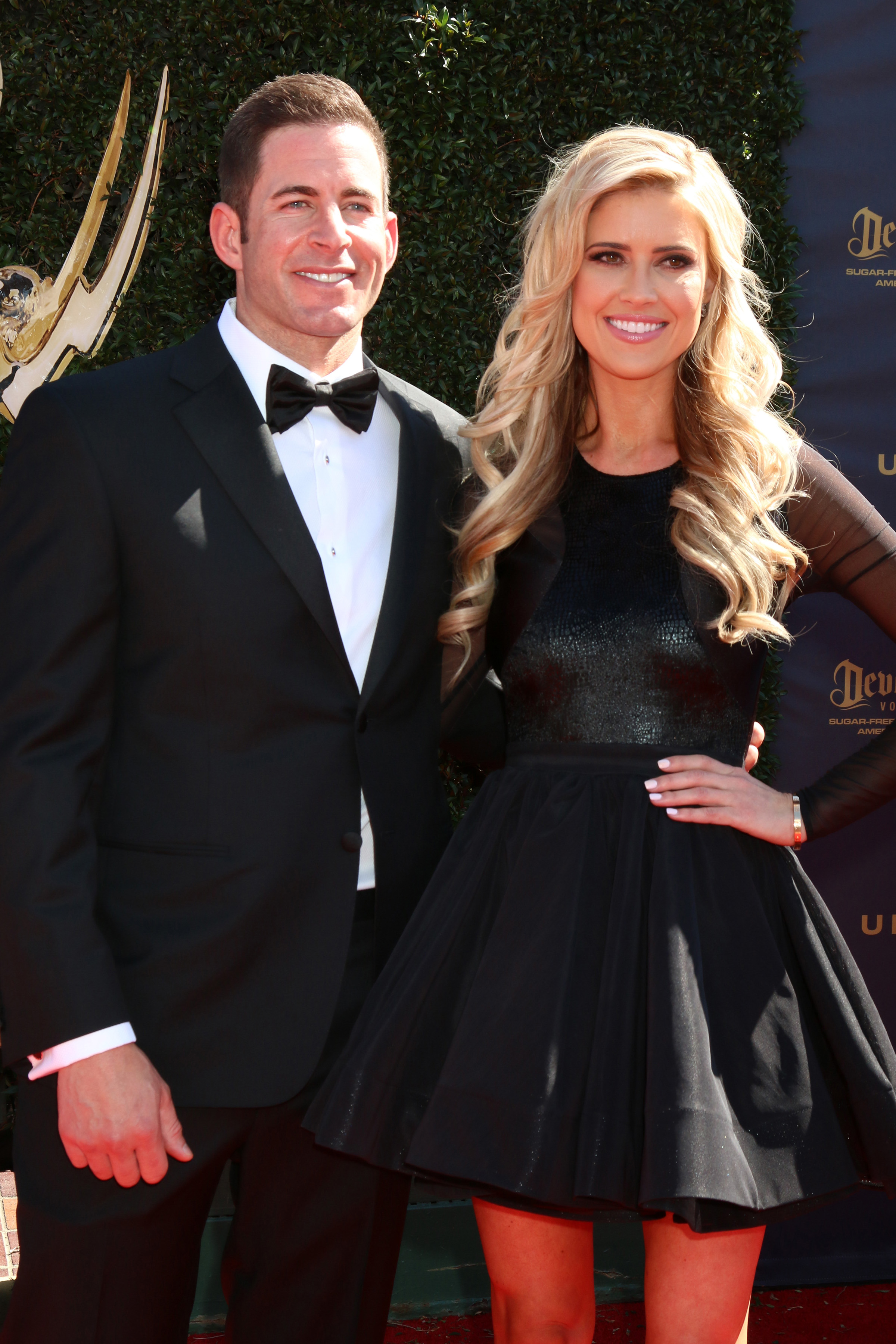 Tarek and Christina El Moussa at the Daytime Emmy Awards