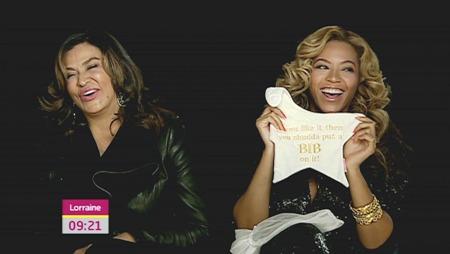Beyonce on Lorraine