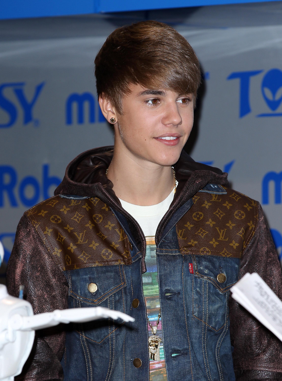 Justin Bieber circa 2012 at CES in Vegas