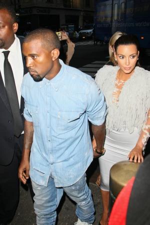 West Kardashian NY Fashion week