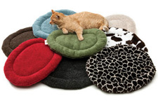 West Paw Design makes catnap time eco-friendly and fun